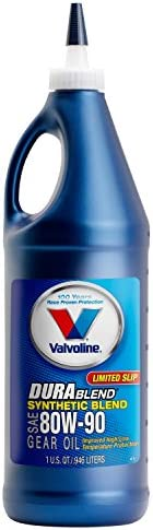 Valvoline 80W 90 DuraBlend Synthetic Blend