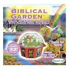 DuneCraft Dome Terrariums - Biblical Garden by DuneCraft (Garden Biblical)