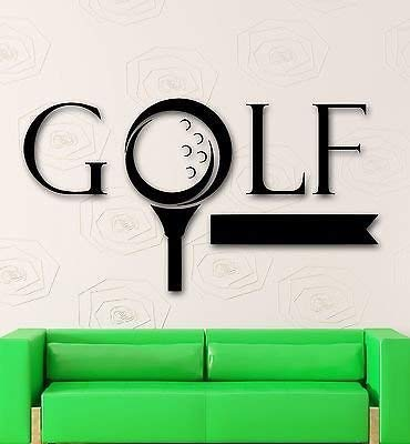 V-studios Wall Sticker Vinyl Decal Golf Sports Game Nice Decor Fans VS2104