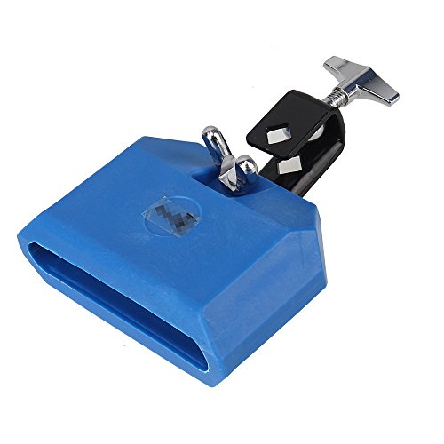 Yibuy Blue Plastic Percussion Instruments Block Percussion Jam Block