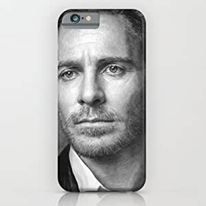 Society6 - Michael Fassbender - Portrait iPhone 6 Case by Thubakabra