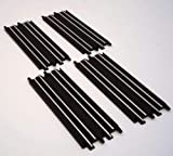 4 Pc Straight Track for Ho Scale Jj Toys Slot Cars