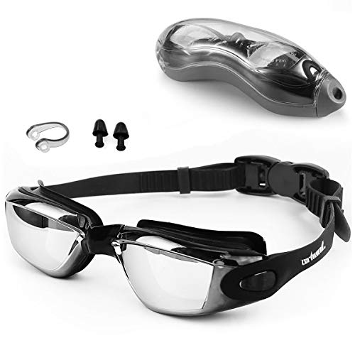 Zerhunt Swim Goggles,Swimming Goggles Professional Anti Fog No Leaking UV Protection Wide...