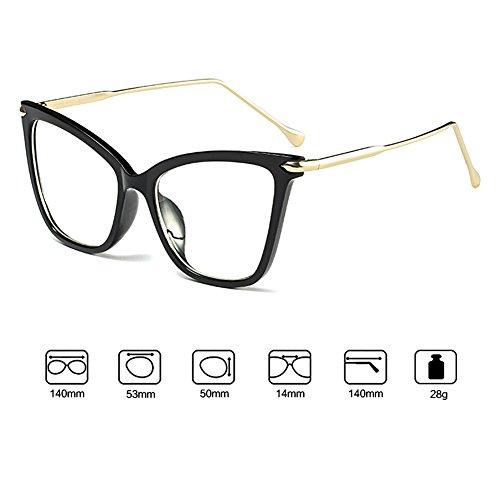 Vintage rétro lunettes hibote Cat Eye lunettes de soleil femmes UV400 C4 P0izs0