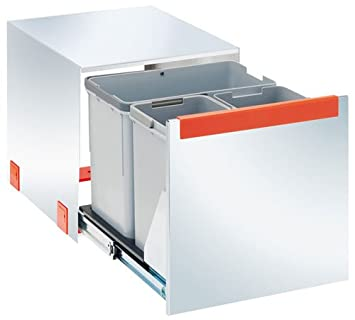 Franke Einbau Abfalleimer Cube 40 Edelstahl 3-fach: Amazon.de: Küche ...