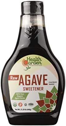 Health Garden Agave Nectar - Organic Raw Kosher (Raw, 23 OZ)