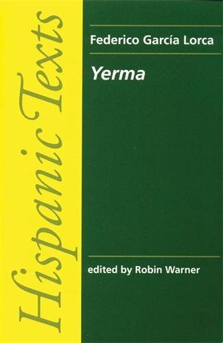 Book cover for Yerma