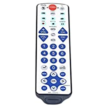 Nettech Universal Waterproof Remote Control 2-Device, work for apple Tv, Xbox One, Roku 1 2 3, Media Center,Direct TV, Dish and Most TV in USA