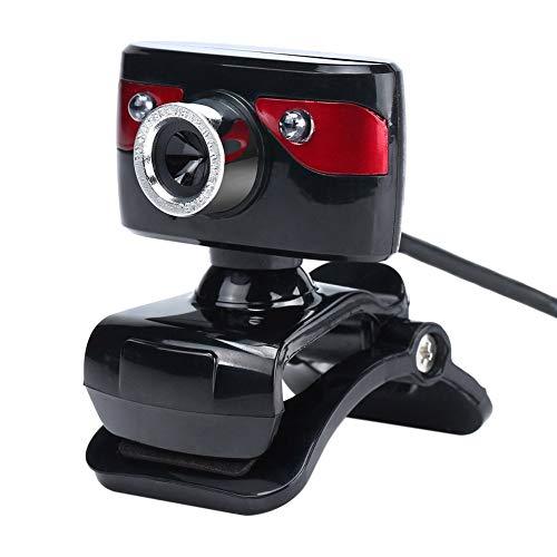Transport-Accessories - 360 Degree Webcam USB 12 Megapixel Vehicle Camera Web Cam Clip-on Night Vision Camera For Skype Computer Laptop Desktop