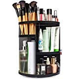 360 Rotating Makeup Organizer, DIY Adjustable Makeup Carousel Spinning Holder Storage Rack, Large Capacity Make up Caddy…