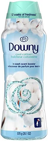 Downy In-Wash Scent Booster Beads, Cool Cotton, 570 g - Packaging May Vary
