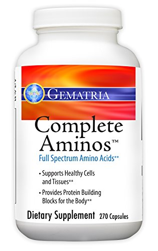 Gematria - Complete Aminos - 270 Capsules by Gematria Products, Inc.