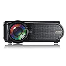 ETbotu 1500LM 800x480 Home Theater LED Projector with Remote Control Support USB + VGA + SD + HDMI + AV + TV