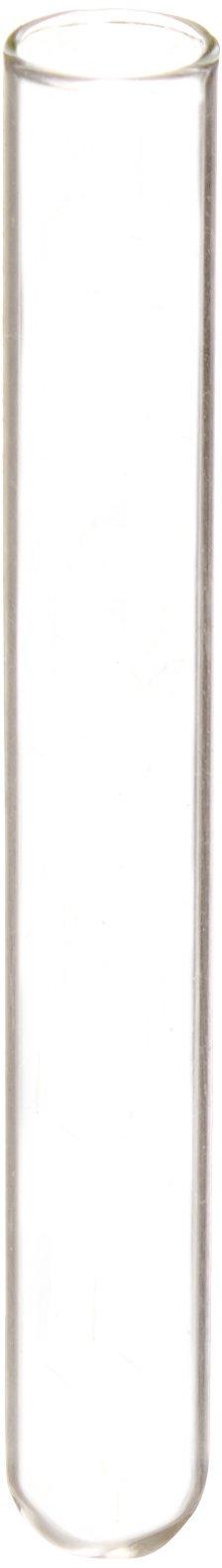 Globe Scientific 1503 Borosilicate Glass Culture Tube, 10mm Diameter x 75mm Length, 3mL Capacity (Case of 1000)