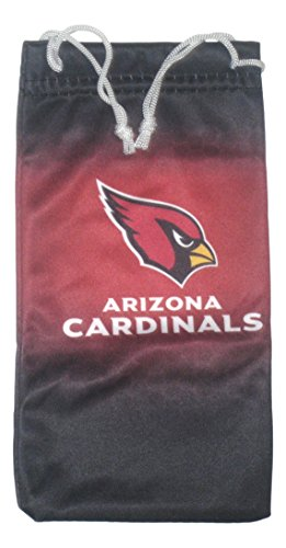Arizona Cardinals Sunglasses Holder/Cleaning - Sunglasses Az Cardinals