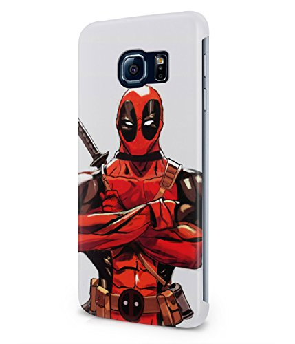 Deadpool Wade Wilson Comics Superhero Plastic Snap-On Case Cover Shell For Samsung Galaxy S6 EDGE