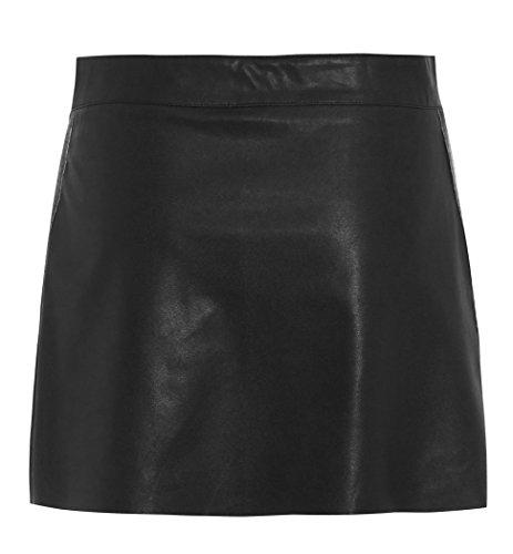 pour Cuir mini 14 Noir faux Sexy en tailles femme Jupe 8 Pu Iqr0IU