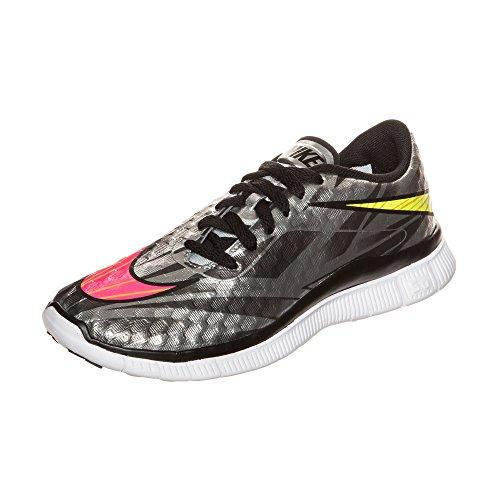 Nike Unisex Gratis Hypervenom Sneakers Chroom Volt Hyper Roze Metallic Gouden Munt 002