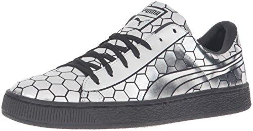PUMA Men's Basket Classic Metallic Fashion Sneaker - Puma...