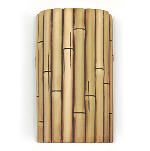 Bamboo Wall Sconce - Natural by A19