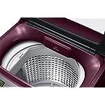 Samsung 7.5 Kg Fully-Automatic Top Loading Washing Machine (WA75A4022FF/TL, Plum, Wobble technology)