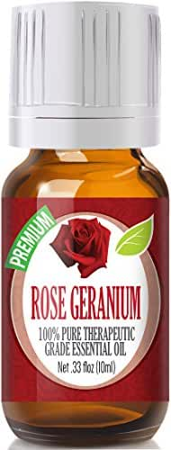 Rose Geranium - 100% Pure, Best Therapeutic Grade Essential Oil - 10ml