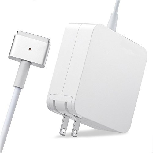Macbook Pro Charger R60-T,MacBook Air Charger Replacement 60W Magsafe 2 Magnetic T-Tip Power Adapter Charger for Apple Macbook Retina-After Late 2012