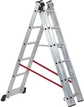 Draper avanzada XS04675 Expert combinación aluminio 6 peldaños escalera [unidades 1] ---: Amazon.es: Bricolaje y herramientas