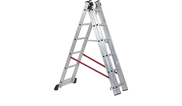 Preciso diseñado Draper SX-04675 Expert combinación aluminio 6 peldaños escalera [unidades 1] - con 3 Jahr rescu3® garantía: Amazon.es: Bricolaje y herramientas