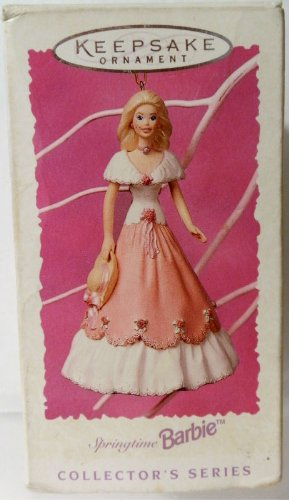 Hallmark Keepsake Ornament - Springtime Barbie – Third and Final in Series 1997 (QEO8642)