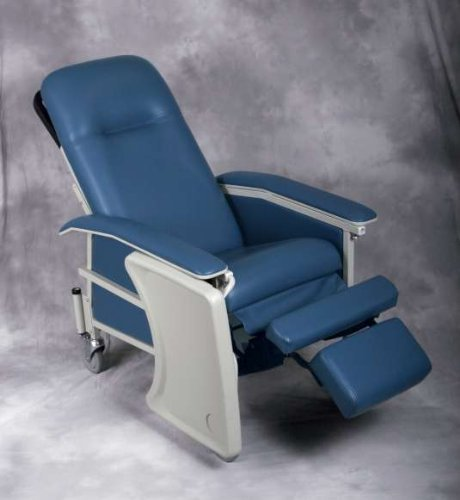 Comfortez 3-Position Recliner Blue/Tray