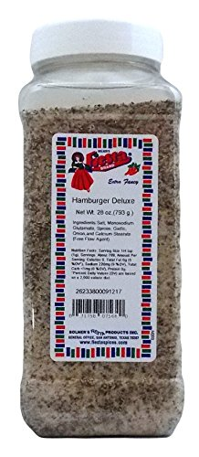 Venison Cans Ounce 4 (Bolner's Fiesta Extra Fancy Hamburger Deluxe Seasoning Mix, 28 Oz.)