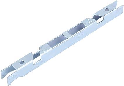 Medidor de profundidad de cadena de motosierra universal Herramientas de guía de archivos de acero al carbono Barra de guía Limpiador de ranuras Herramienta de motosierra Afilador de cadenas
