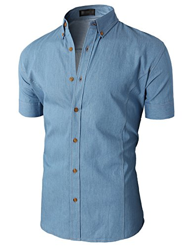 H2H Casual Button Sleeve Various