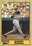 1987 Topps Baseball #320 Barry Bonds Rookie Card