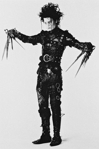 Johnny Depp in Edward Scissorhands 24x36 Poster