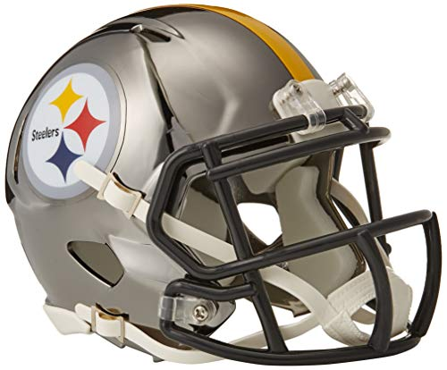 Riddell Chrome Alternate NFL Speed Mini Helmet Pittsburgh Steelers
