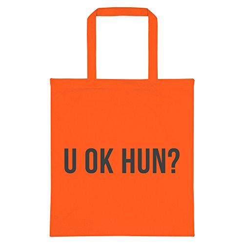 Hun U U Tote OK Orange OK Bag 5t8ZZqw