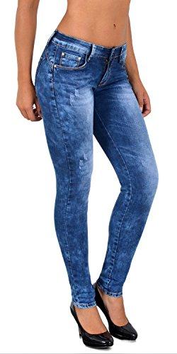 by-tex Jean Femme Skinny Pantalon Taille Haute Taille Basse Femmes Stretch Jeans # S500 Z56