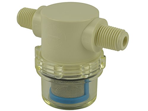 """1/4"""" Male NPT In-Line Strainer with 50 mesh"""