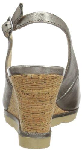 Lotus Maron - Sandalias de vestir para mujer Gris (Pewter)