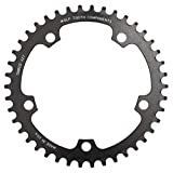 Wolf Tooth Components Drop Stop B 130 BCD Chainring 42T (Color: Anodized Black, Tamaño: 42T)