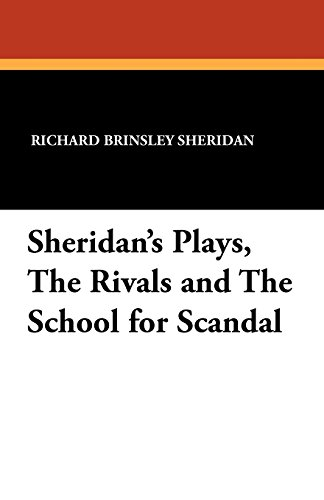 Sheridan's School for Scandal - Theatre Review Essay