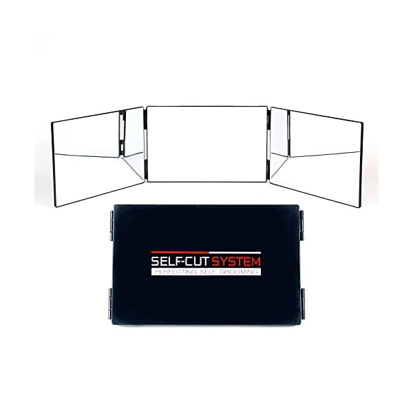 SELF,CUT SYSTEM , Three Way Mirror for Self Cutting and