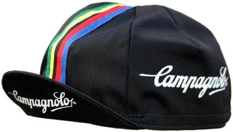 Campagnolo - Gorra para ciclismo, diseño retro, color negro ...