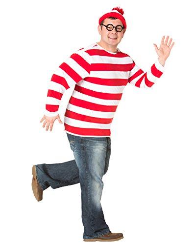 Spirit Halloween Adult Waldo Plus Size Costume - Where's Waldo