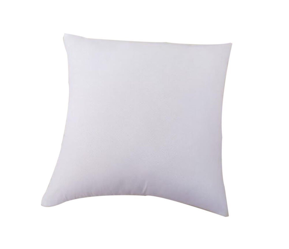 Fablcrew Standard Pillow Inserts, Hypoallergenic Stuffer Pillow Insert Sham Square Form Polyester, 18 x 18 18 x 18