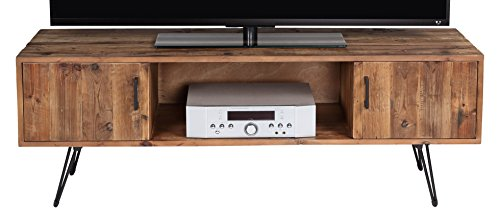 Modern Metal Tv Stand (Belmont Home 60 inch Natural Finish Media Stand)