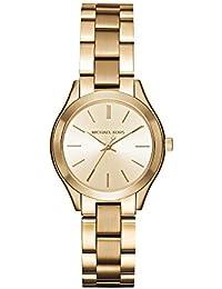 Women's Mini Slim Runway Gold-Tone Watch MK3512