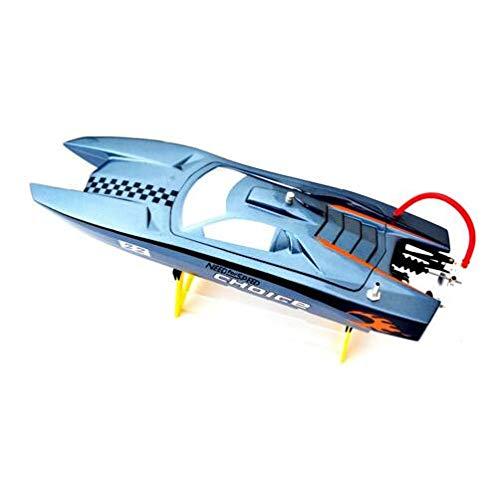 - Hockus Accessories DTRC M370 Fiberglass Brushless RC Boat FRP / Catamaran with B2435 Motor/30A ESC/17g Servo
